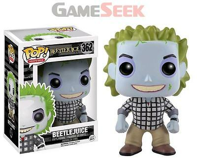 Pop! Movies: Beetlejuice - Check Shirt Limited #362 Vinyl Figure - Toys New