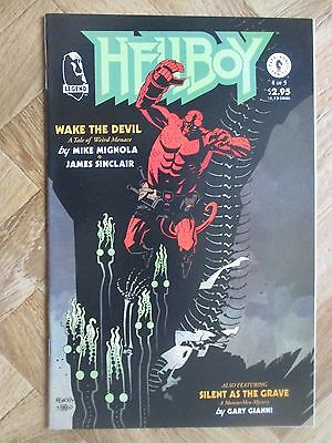 Hellboy Wake The Devil #4 Very Fine  (W12)