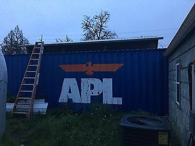 45' Steel Shipping Container Connex Box Extra Tall 45ft Foot