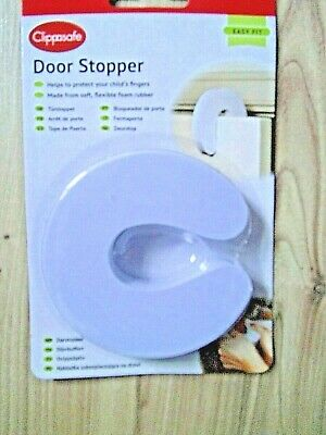 Clippasafe Children's Baby Safety Door Stopper Stop Home Holiday Trap Fingers