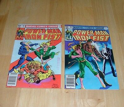 Power Man And Iron Fist Lot of 10 #72, 84, 85, (2 of 86) 87, 88, 89, 95 &118