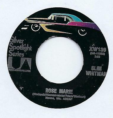 "Slim Whitman - Secret Love - 7"" Single"