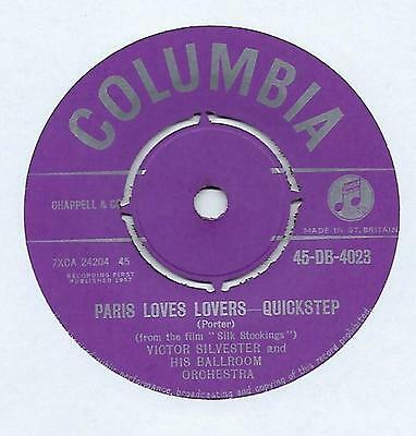 """Victor Silvester - An Affair To Remember-Slow Foxtrot - 7"""" Single"""