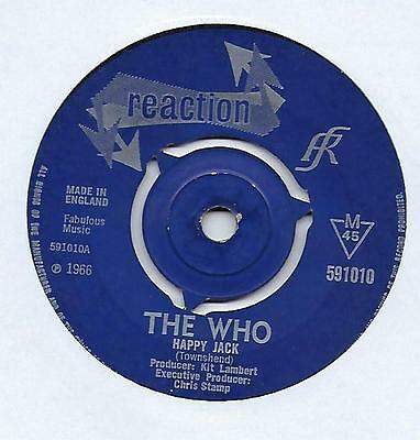 "The Who - Happy Jack - 7"" Single"