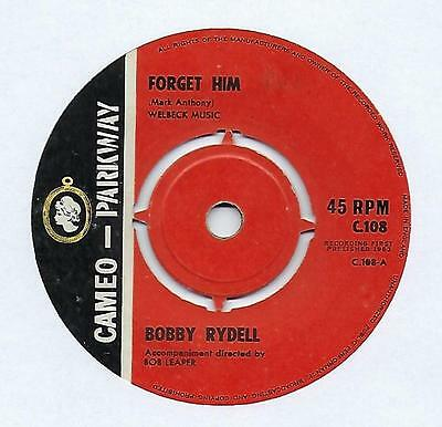 "Bobby Rydell - Forget Him - 7"" Single"