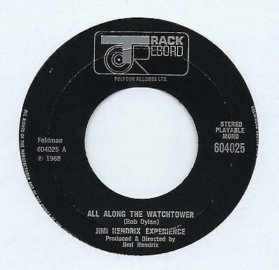 "Jimi Hendrix Experience - All Along The Watchtower - 7"" Single"