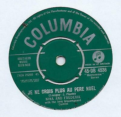 "Nina And Frederik - Little Donkey - 7"" Single"