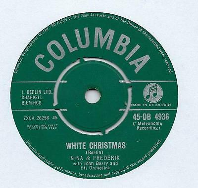 "Nina & Frederik - White Christmas - 7"" Single"