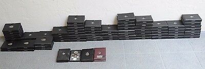 Lot of 75 Canada Prooflike Sets 1973-1997 (containing silver dollar each)