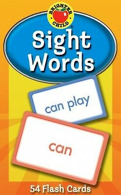 Sight Words (Brighter Child Flash Cards) (Cards)