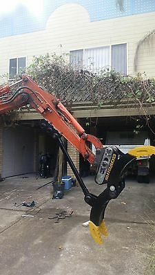 Excavator Log Grab,1.7 3 4,5,6, 8T Adjustable Rippers, Buckets Grapple Rock