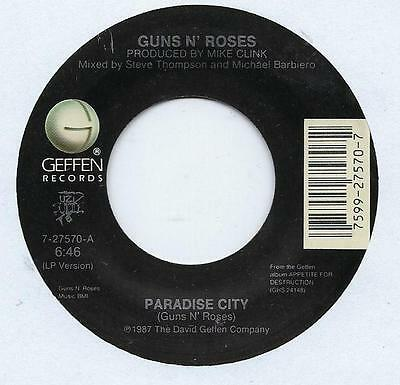 "Guns N Roses - Patience - 7"" Single"