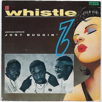"Whistle - (Nothing Serious) Just Buggin' - 7"" Single"
