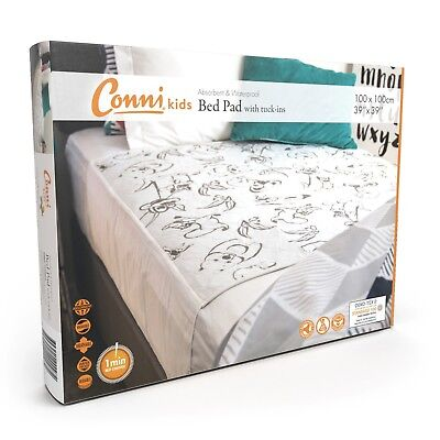 Conni Kids Reusable Bed Pad with Tuckins.