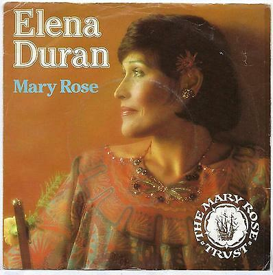 "Elena Duran - Mary Rose - 7"" Single"