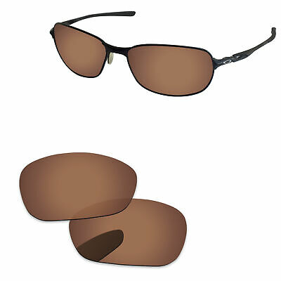 724294292f Copper Brown Polarized Replacement Lenses For-Oakley C Wire 2011 Sunglasses