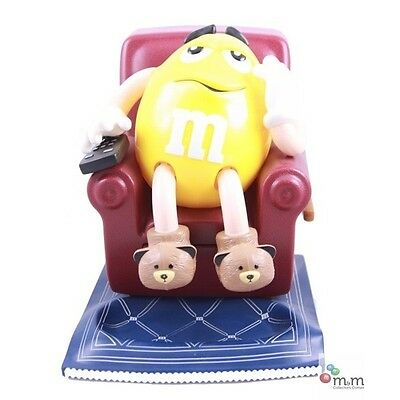 LIMITED EDITION Yellow M&M'S La-Z-Boy Candy Dispenser NEW IN BOX ORIGINAL OWNER