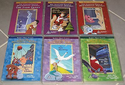 Animated tales of Hans Christian Andersen (rating G) (11 stories on 6 DVD discs)
