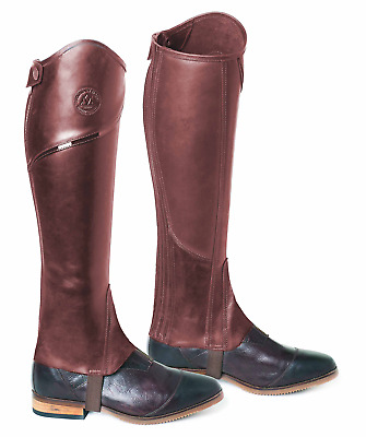 Mountain Horse Renown Leggings Chaps - Brown