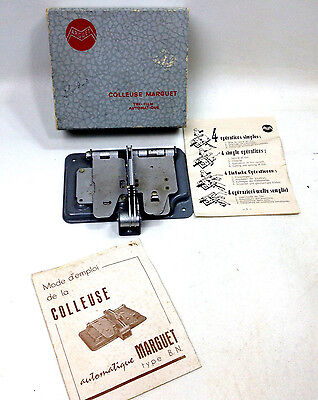 Arguet Colleuse Marguet French Made Film Splicer for 8 & 16mm Film Boxed