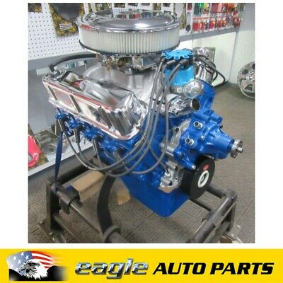 Ford 351 Windsor Roller Cam Engine Blue # Reco-351W-Roll-C