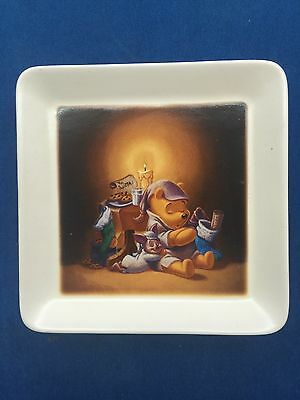 WALT DISNEY Multi Colored China Plate~Based On The Winnie The Pooh Works