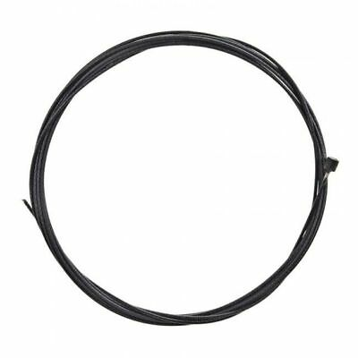 Positz Stainless Steel Polymer Coated Inner Gear Cable Black 2100mm x 1.2mm