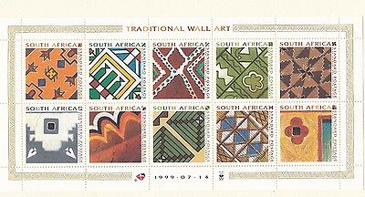 Sud Africa South Africa 1999 Mf 1074-83 Murales MNH