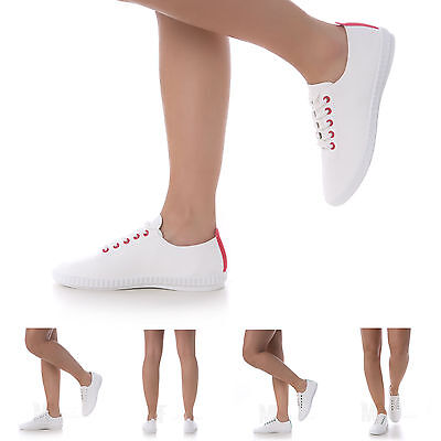 scarpe donna sneakers sportive ginnastica casual footing fitness TELA P5036