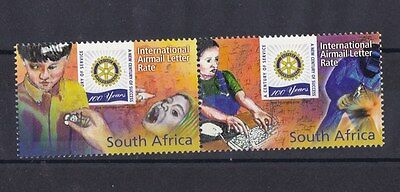 Sud Africa South Africa 2005 posta aerea Rotary Club 97-98 MNH