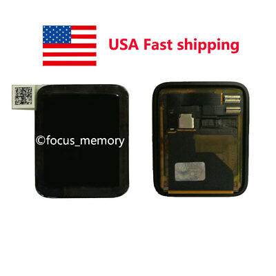 Touch Screen Watch Front Glass / LCD Replacement For Apple Watch iWatch 42mm USA