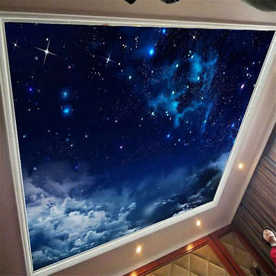 Dream Twinkle Stars Full Wall Ceiling Mural Photo Wallpaper Print Home 3D Decal