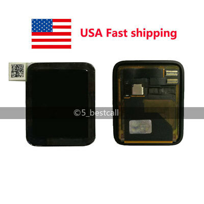 Touch Screen Watch Front Glass LCD Replacement For Apple iWatch 42mm From USA