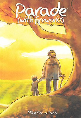 Parade (with Fireworks) by Michael Cavallaro 2009, PB Graphic Novel Image OOP