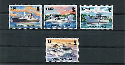 Solomon Islands 1039-42 Navi MHN