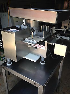Patty-O-Matic Patty Model 330A Machines Patty Maker 115V  on Table W/casters