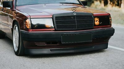MERCEDES E class W124 Front bumper spoiler addon chin ABS plastic AMG DTM