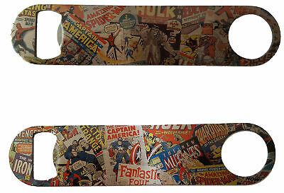 """Marvel Comics inspired Speed Opener 7"""" STAINLESS STEEL Printed 1 or 2 sides D1"""
