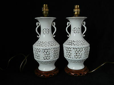 Pair of Oriental Table Lamps