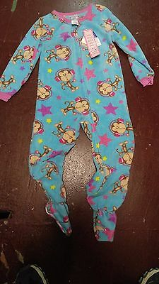 e83d8121a KOMAR KIDS~TODDLER PAJAMAS~SIZE Xs (4/5)~Monkey One Piece - $19.99 ...