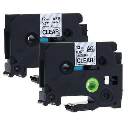 P-Touch Label Tape TZe-131 TZ131 Compatible for Brother Laminated Ribbon 12mm
