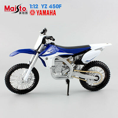 1:12 scale kids Mini Motorcycle Yamaha YZ 450F Diecast model Motocross toys