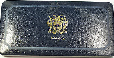 1974 Jamaica 8 Coin Proof Set .925 Silver $10 and $5 Coin-Franklin Mint OGP