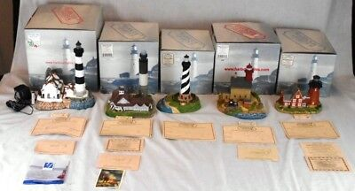 Lot of 5 Harbour Lights Lighthouses NC RI MIB  #719, #240, #401, #318 & #403R