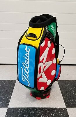 Scotty Cameron 2017 Window Pane Multi Colors Staff Bag Limited Release Sold Out