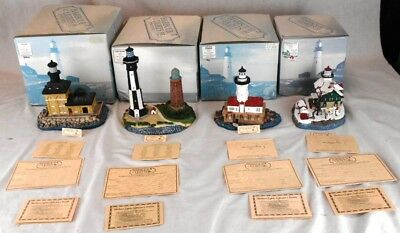 Lot of 4 Harbour Lights Lighthouses LE MIB #179, #196, #208 & #712