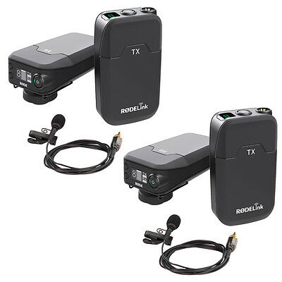 2 X Rode RodeLink Wireless Filmmaker Kit