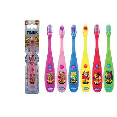 Kids Flashing Toothbrush ANIMAL FRIENDS