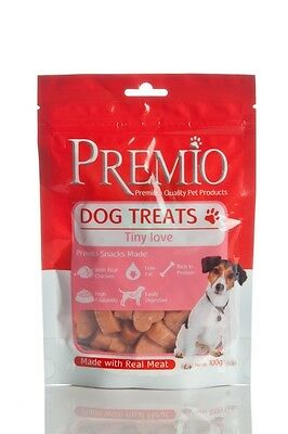 PREMIO Natural Tiny Love Dog Treats - Real Fish & Chicken 60 g'