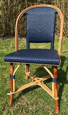 Pleasant Gresley Stacking French Bistro Counter Stool In Navy And Ibusinesslaw Wood Chair Design Ideas Ibusinesslaworg